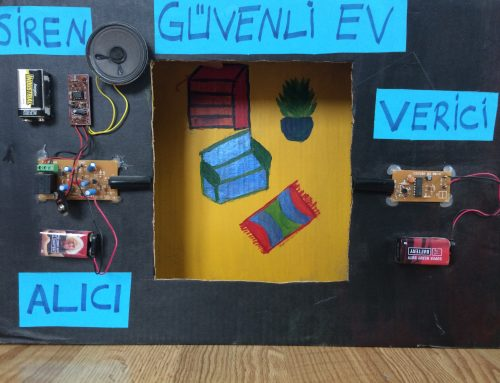 Güvenli EV (Fizik Projem)